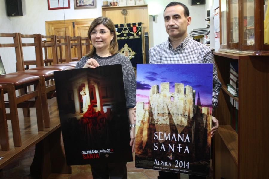 Concurso Carteles Semana Santa Alzira 2014