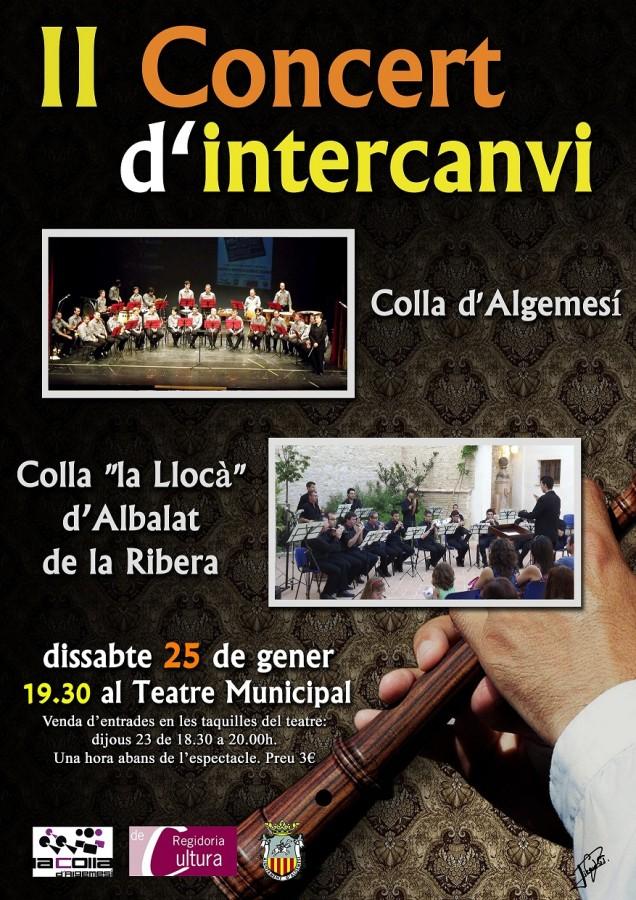 II concert d'intercanvi
