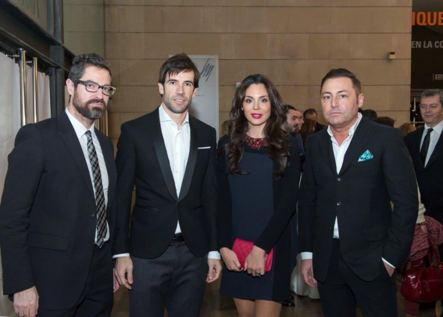 Jarr, David Albelda, Vicen Fernandez y Jose Tamarit