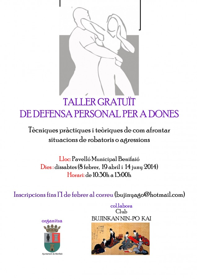 cartel taller defensa personal dones copia