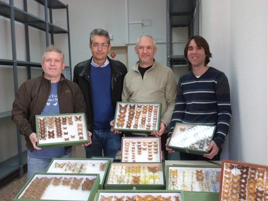 Albert Martinez, Jesus Boluda, Juan Rueda i Dani