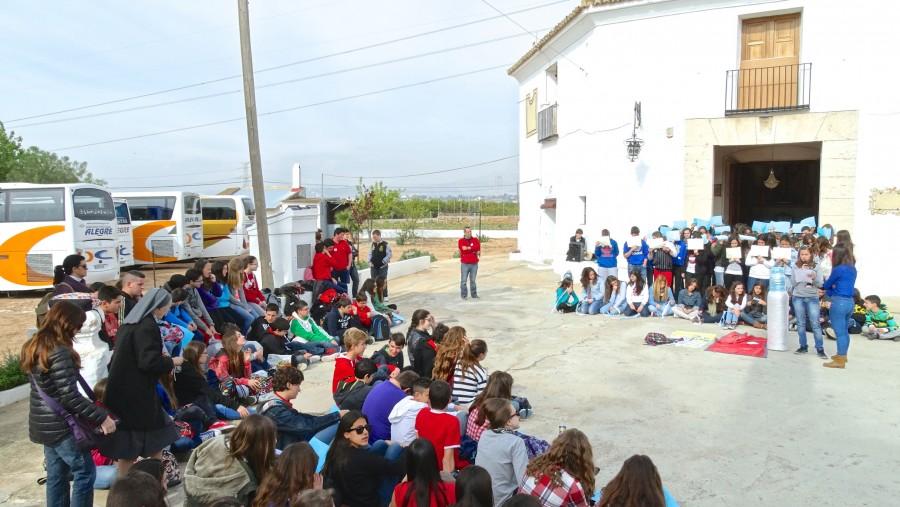 Escolares visita ermita Sant Bernat