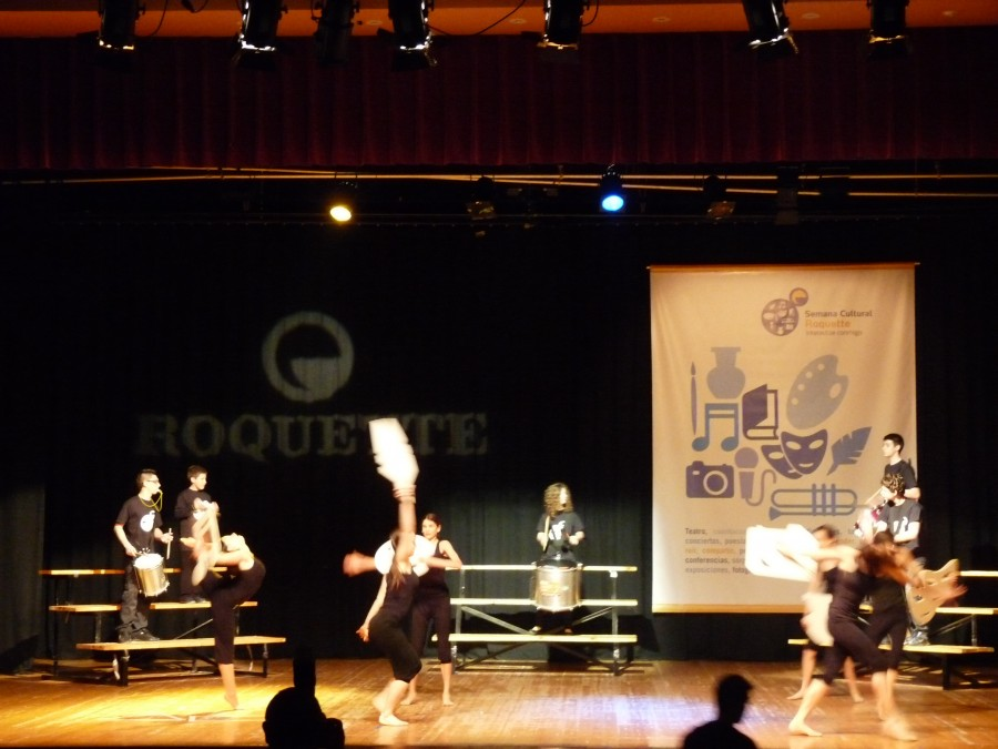 acto inaugural semana cultural roquette