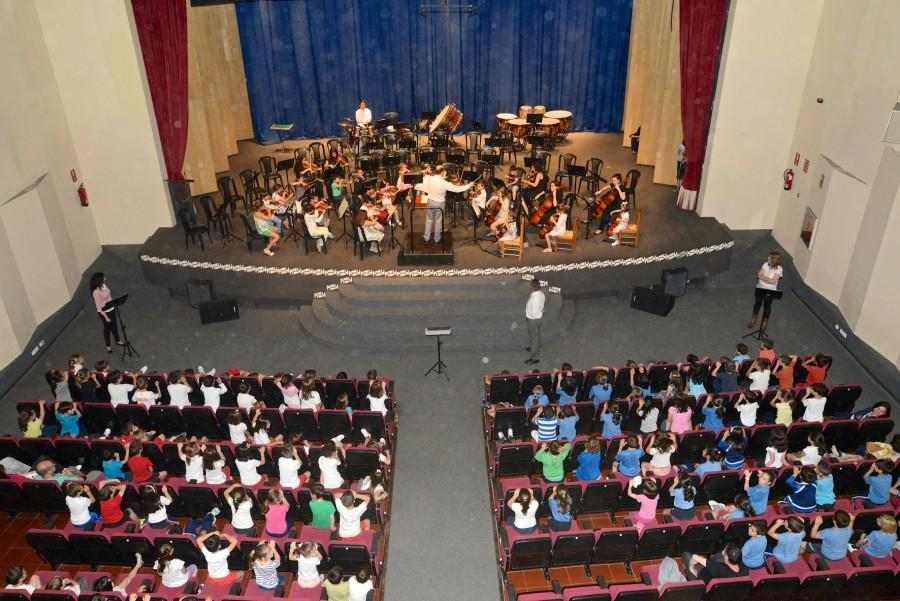Concierto Orquesta Conservatorio Escolares 1res