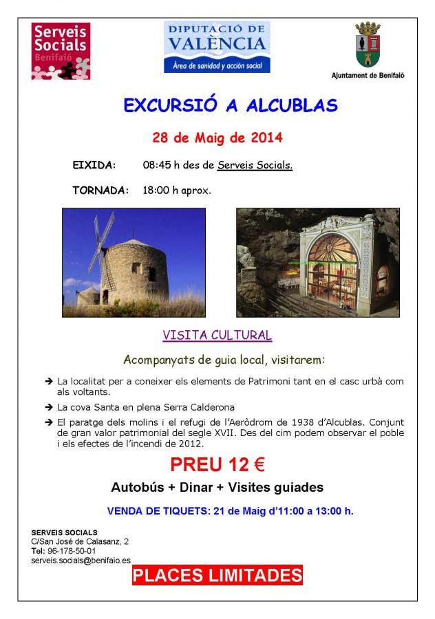 cartell  publicitat Alcublas per el face
