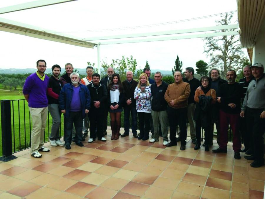 presentacio club de golf Almussafes