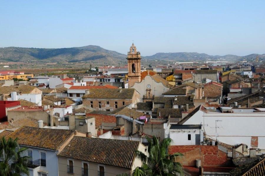 Panoramica del municipio de Catadau