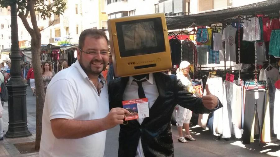 TV men y Jose Palacios