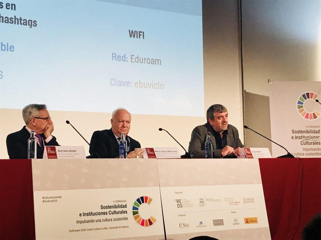 Josep Bort intervé a les Jornades sobre Sostenibilitat i Institucions Culturals_01